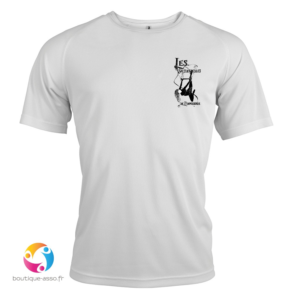 TEE-SHIRT SPORT ENFANT - LES SALTIMBANQUES DE L'IMPOSSIBLE